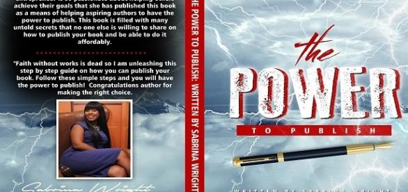 The Power to Publish book cover. Permission granted by Sabrina Wright