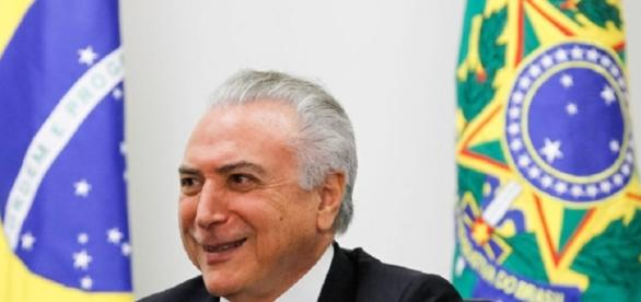 O novo presidente do Brasil, Michel Temer