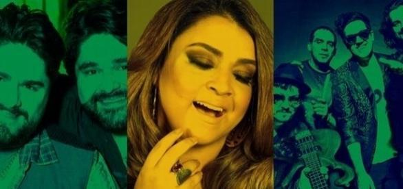 César Menotti & Fabiano, Preta Gil e Jota Quest vão agitar o palco montado na Sexta Avenida.