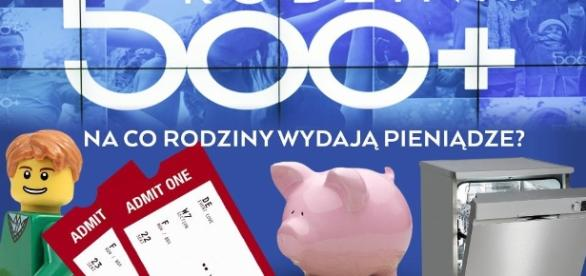 Polacy nie marnują pieniędzy z programu 500 zł na dziecko