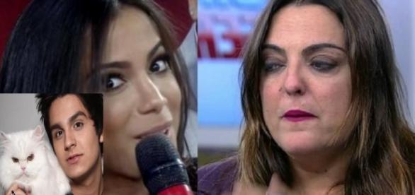 Anitta e Fabíola Reipert - Foto/Reprodução