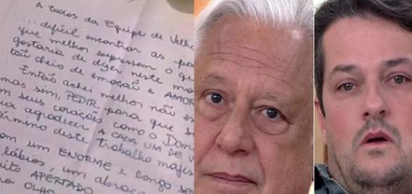 Carta emociona atores de Velho Chico