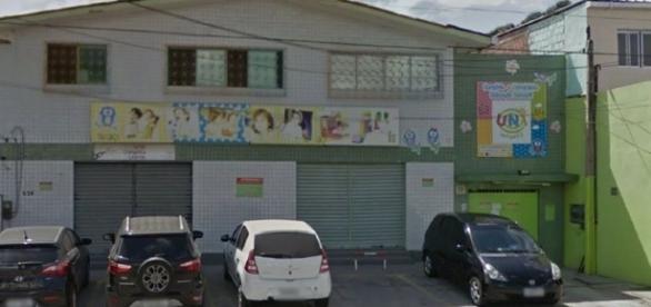 Creche onde o menino foi atingido pela porta de vidro e morreu no Recife