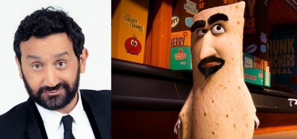 Cyril Hanouna incarne Lavash dans Sausafge Party (C8, Columbia Pictures/Sony Pictures Releasing)