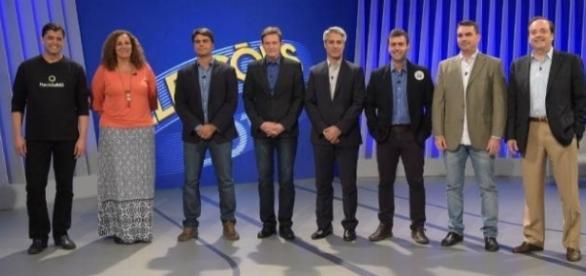 Debate realizado pela Rede Globo com os candidatos do Rio de Janeiro