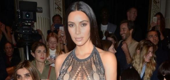 Kim Kardashian et sa robe moulante très osée