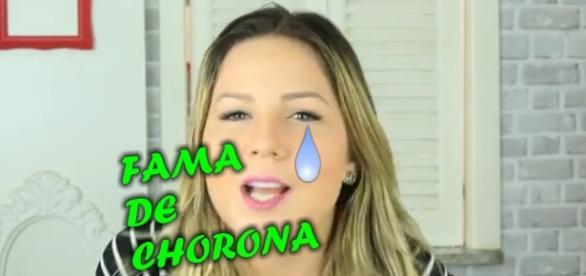 'Fama de Chorona' bomba nas redes sociais