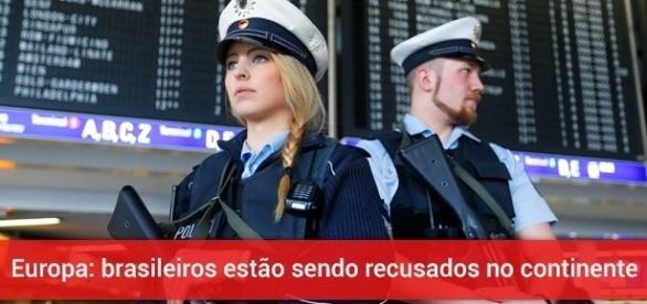 Brasileiros estão sendo barrados na Europa - Foto: Reprodução Concordmonitor