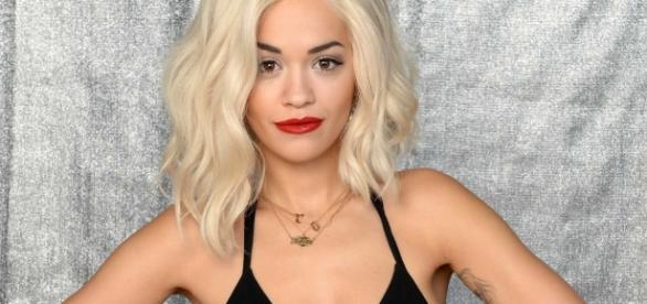 Britische Sängerin und Model Rita Ora