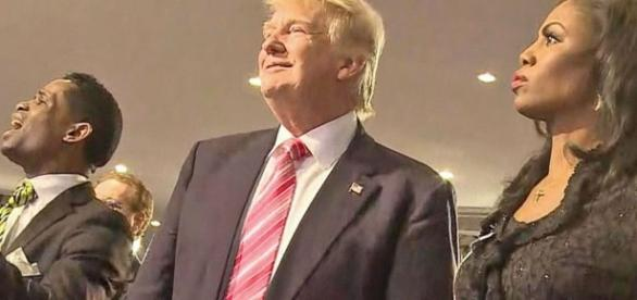 Donald Trump Attends African American Church in Detroit Video ... - go.com