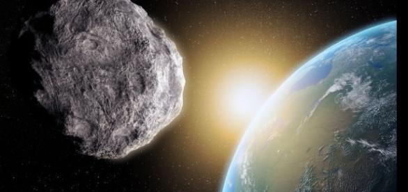 Imagens de asteroide que quase atingiu a Terra