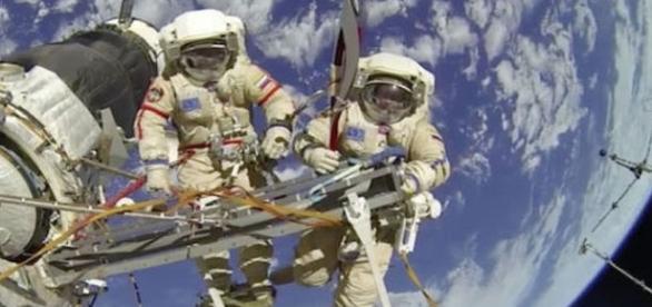 Astronauta teria levado susto ao observar ovnis (NASA/Youtube)
