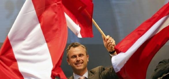 Norbert Hofer, candidato alle Elezioni Presidenziali in Austria che si ripeteranno il prossimo 2 ottobre
