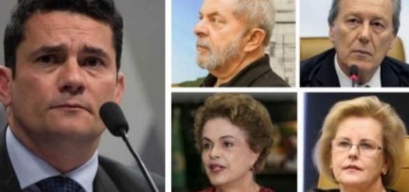 PT pede a prisão de Sérgio Moro