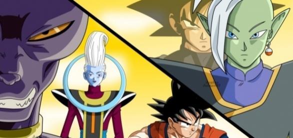 Zamasu vs Goku (ft. Beerus, Whis, Goku Black) Speed Drawing - YouTube - youtube.com