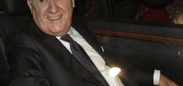 El empresario fundador del grupo Inditex Amancio Ortega