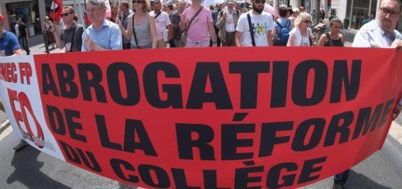 Grève enseignante ce jeudi contre la nouvelle réforme du collège