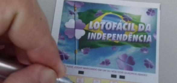 Lotofácil da Independência tem prêmio estimado em R$85 milhões