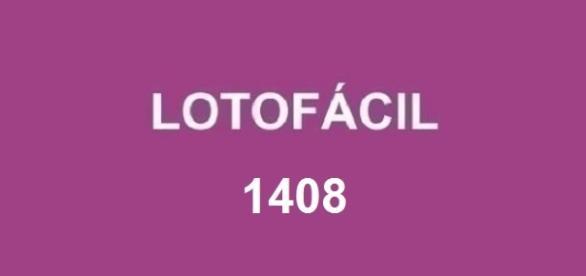 Resultado da Lotofácil em 06/09 - Concurso 1408