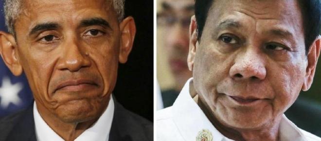 Obamainsultado por el presidente de Filipinas
