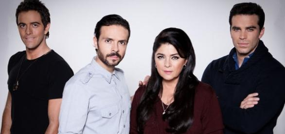 Elenco principal de Lagrimas de Amor (Foto: Televisa)
