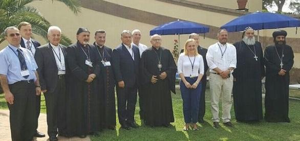 Frascati. Viktor Orban incontra i leaders cristiani delle Chiese del Medio Oriente.