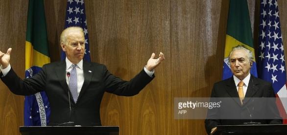 Joe Biden e Michel Temer são amigos