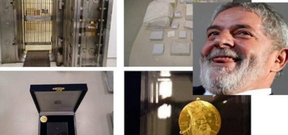Lula e o cofre secreto - Foto/Reprodução