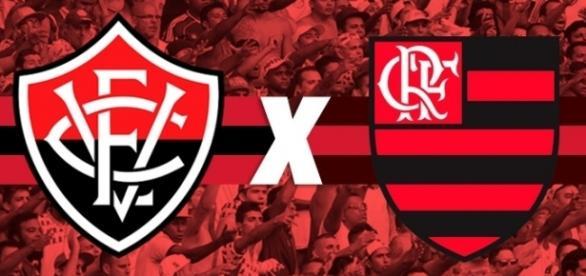 Vitória e Flamengo se enfrentam no sábado