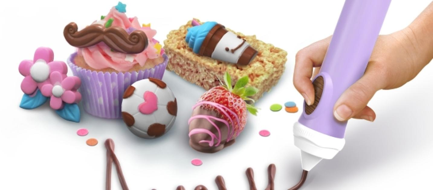 Skyrocket Toys releases revamped Chocolate Pen that turns baking ...