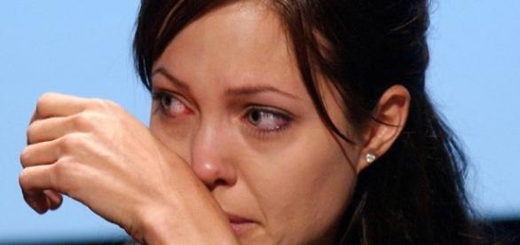Angelina Jolie chora em evento - Foto/Reprodução