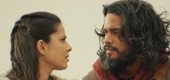 Aruna cai na armadilha de Samara e rompe com Josué