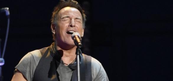Der US-amerikanische Sänger Bruce Springsteen