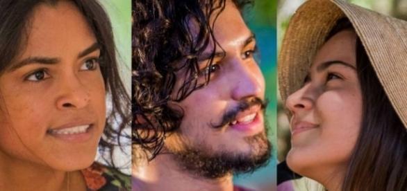 Luzia lamenta chegada de filho de Miguel e Olívia (Divulgação/Globo)