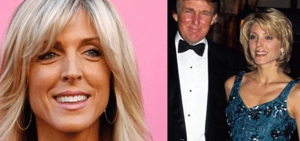 Marla Maples-Trump, ici avec un Donald n'ayant pas eu recours aux services de Jérôme Cahuzac, refusa de poser dans Play Boy