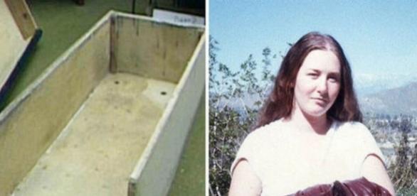 olleen Stan a fost sechestrată vreme de șapte ani într-o cutie asemănătoare cu un sicriu - Foto: KXTV / News 10