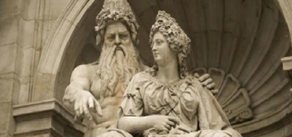 Deuses mitológicos gregos, Zeus e Hera