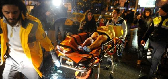 Grauenhaftes Attentat in Konstantinopel (Istanbul) auf eine Silvesterparty. (Fotoverantw./URG Suisse: Blasting.News Archiv)