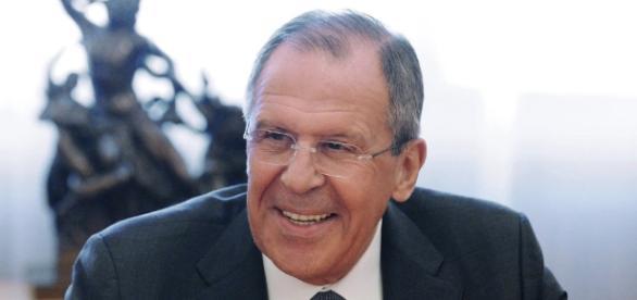 Il ministro degli esteri russo, Sergej Lavrov