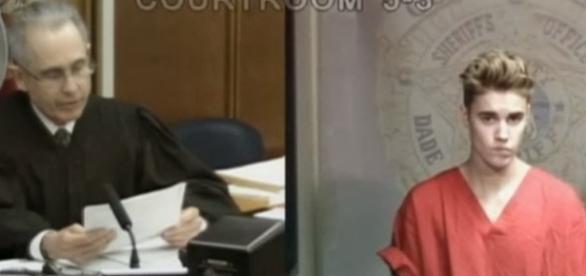 Justin Bieber já teve vários problemas com a justiça