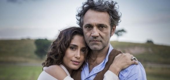 Camila Pitanga e Domingos tinham uma grande relação