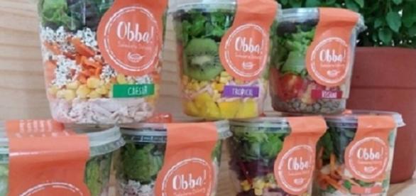 Dupla chega a faturar com negócio inovador 1,4 milhões, com entregas de saladas em pote.