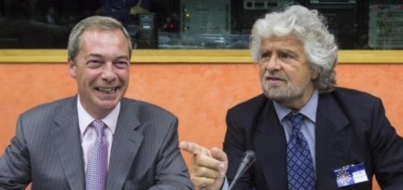Nigel Farage e Beppe Grillo, nessun 'divorzio politico' dopo il rifiuto di ALDE di stringere alleanza con il M5S