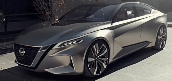 Nissan Vmotion 2.0 Concept revela a nova linguagem de design dos sedãs da marca