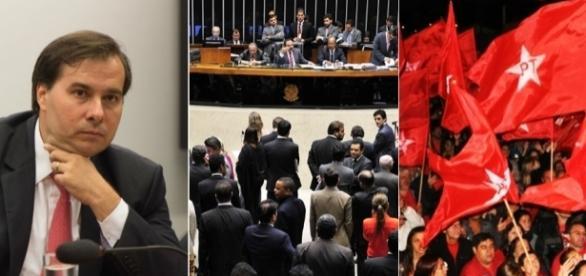 Rodrigo Maia quer se reeleger a presidente da Câmara dos Deputados