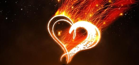 Será que é amor ou uma paixão ardente?