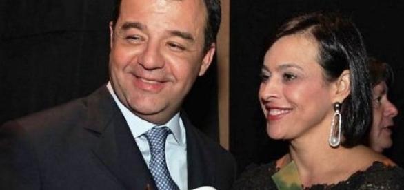 Sérgio Cabral e Adriana Ancelmo, do luxo ao lixo