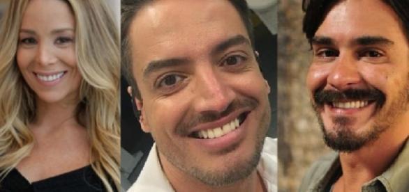Danielle Winits, Léo Dias e André Gonçalves - Google