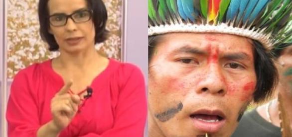 Jornalista da Record ataca índios - Google