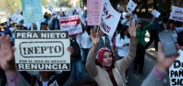 Pronunciaciones populares, Mexico.